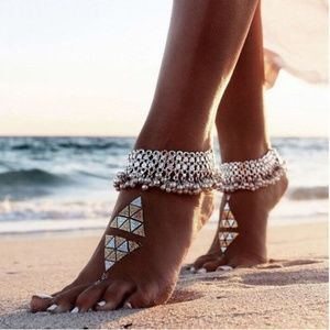 Jewelry - New Fashion Sexy Silver Anklet Chain Ankle Bracele